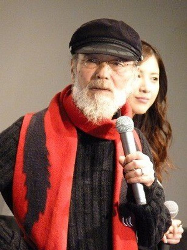 73歳で新人俳優! 主演のミッキー・カーチスこと五十嵐信次郎
