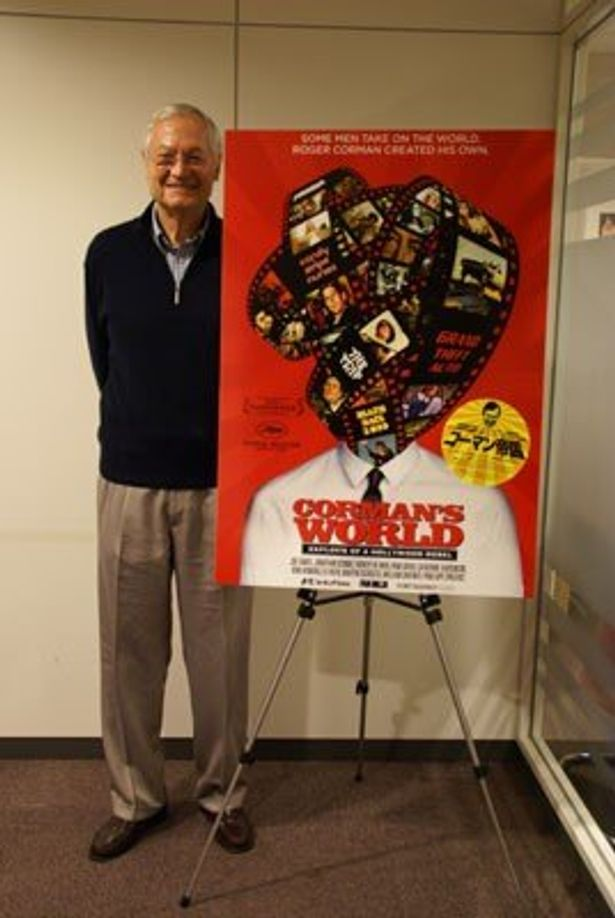 昨年10月には東京国際映画祭での上映で久々に来日