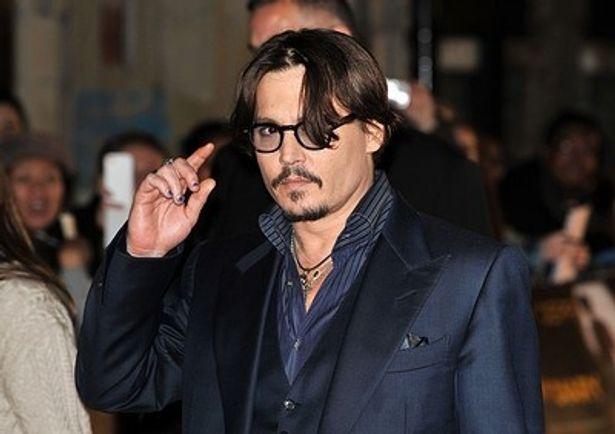 「米国人が一番好きな映画スター」にジョニー・デップ