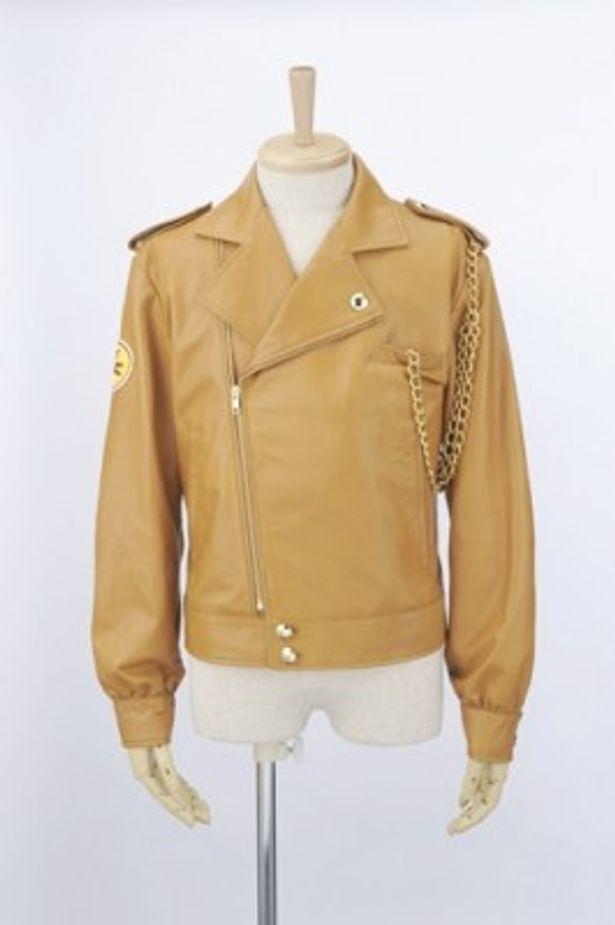 ファンにはたまらない一条寺烈モデルのレザージャケットも発売