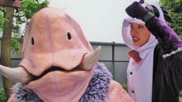 ヤマガミくんの強敵パンダーマンに扮するのは『東京残酷警察』(08)のしいなえいひ