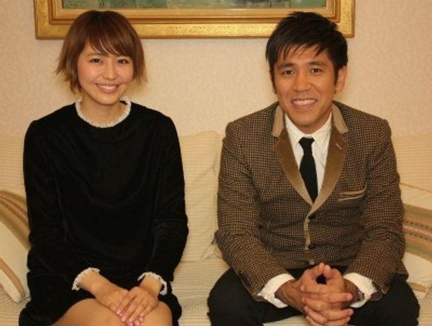 『日本列島 いきものたちの物語』でナビゲーターを務めた長澤まさみとゴリ