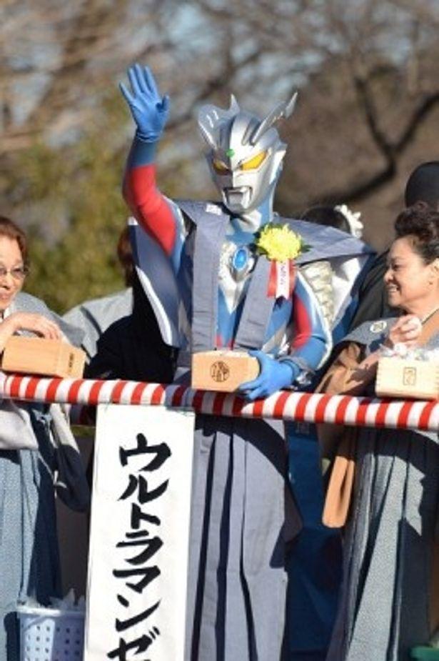 池上本門寺で開催された節分イベントにウルトラマンゼロら個性派ゲストが集結
