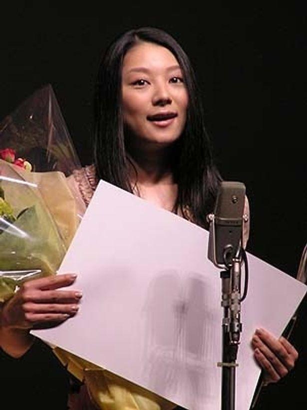 初の主演女優賞に大喜びの小池栄子