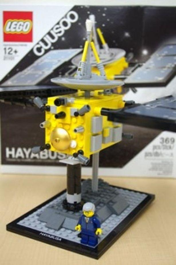 あの「はやぶさ」をレゴ(R)ブロックで再現! 子供も大人も確実に夢中になれるはず