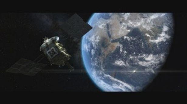 宇宙空間を行くはやぶさ。富田勲の音楽がその偉大なる挑戦を盛り上げる