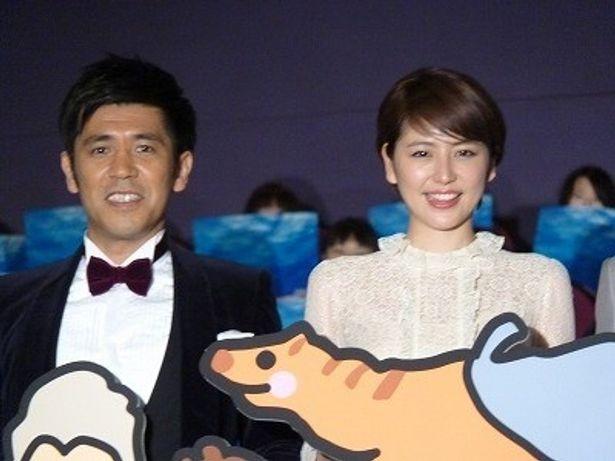 『日本列島いきものたちの物語』初日舞台挨拶
