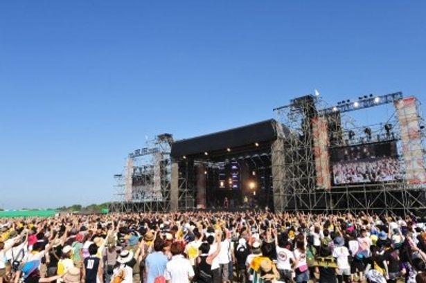 8月10日(金)・11日(土)に開催されるRISING SUN ROCK FESTIVAL