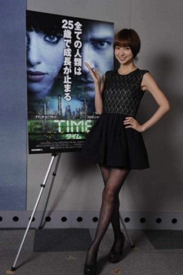 『TIME タイム』でハリウッド映画の日本語吹替に初挑戦した篠田麻里子