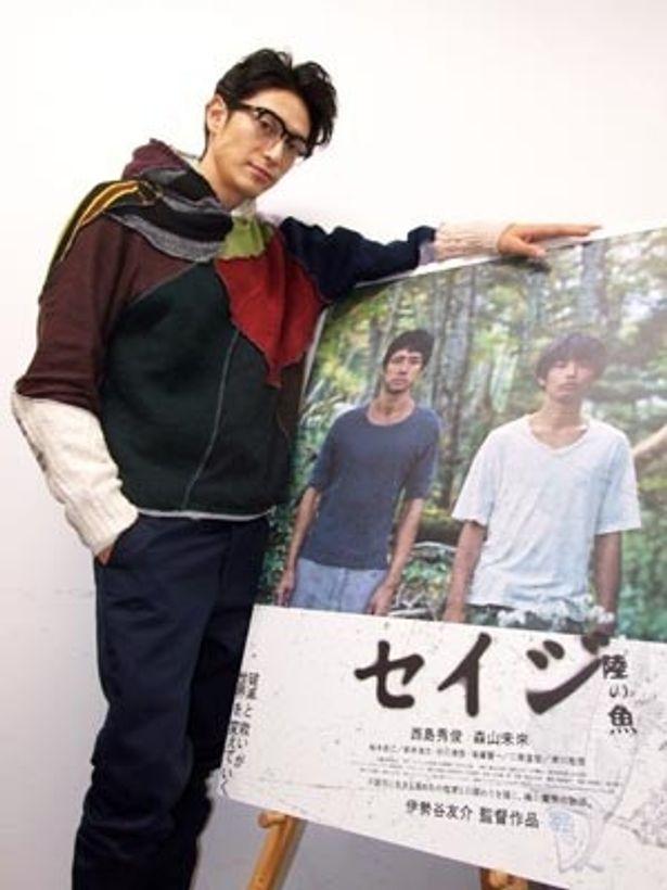 """""""人が人のためにできること""""を問いかける『セイジ 陸の魚』を撮り上げた伊勢谷友介監督"""