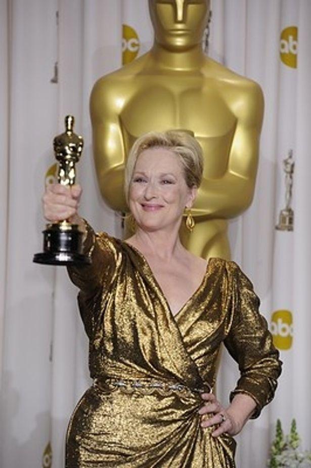 主演女優賞受賞で興奮しすぎたメリル・ストリープ