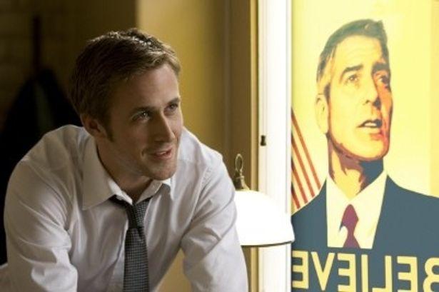 『ドライヴ』などの話題作が相次ぐライアン・ゴズリングが、理想の大統領候補に心酔する若き広報官を熱演