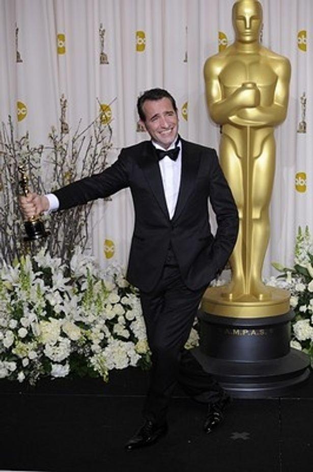 【写真】ジャン・デュジャルダンもフランス人初の主演男優賞を受賞した