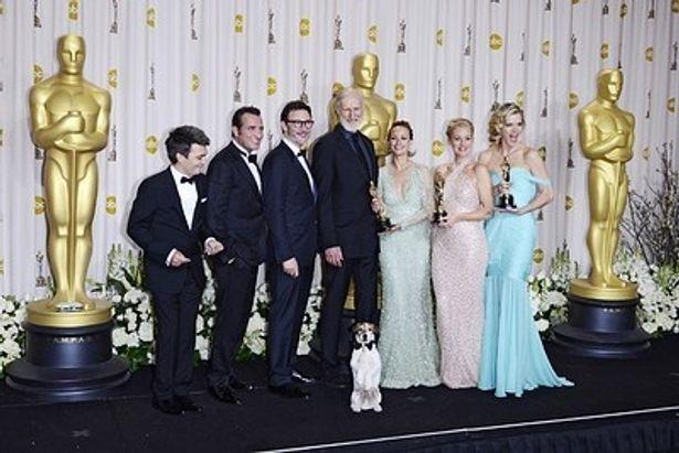 第84回アカデミー賞でフランス映画『アーティスト』が初の快挙