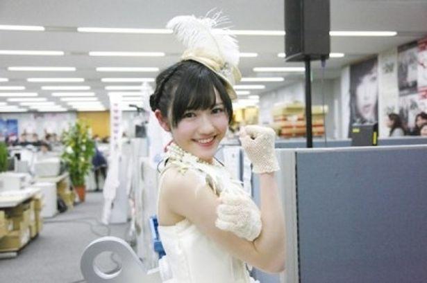 ソロデビュー曲「シンクロときめき」がオリコンデイリー1位獲得!