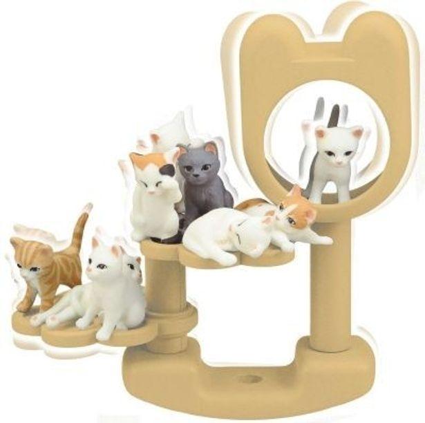 10匹の子猫がキュート!バランスゲーム「こねこだらけ」(1890円)