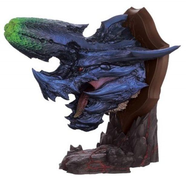 砕竜ブラキディオスの顔をかたどったハンティングトロフィー(A賞)