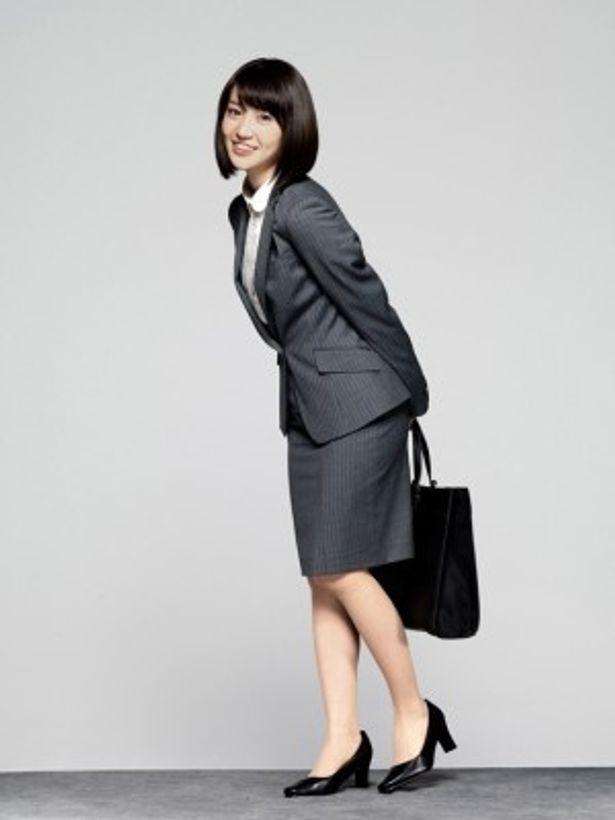 就活連敗中で内気な女子大生・野々村まひる役の大島優子