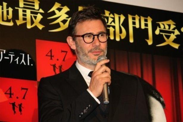 第84回アカデミー監督賞を受賞したミシェル・アザナヴィシウス監督