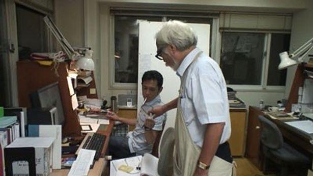 宮崎親子が映画完成に向けて情熱を燃やす制作現場に10ヶ月にわたって密着