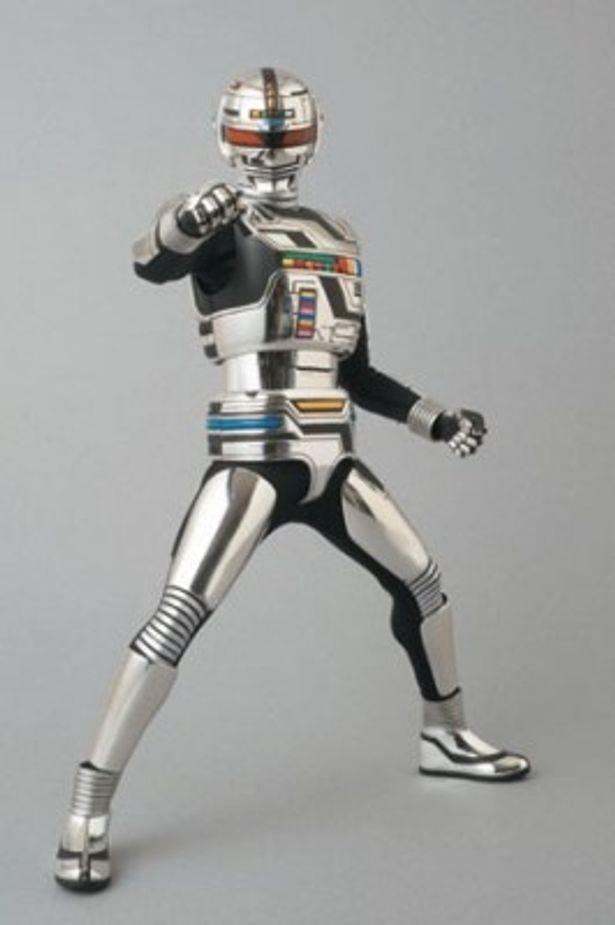 主人公・一条寺烈は、わずか0.05秒でメタリックな輝きを放つヒーロー・ギャバンに変身する