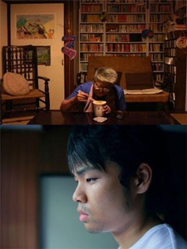 41人の監督が各自3分11秒で短編を制作。阿部理沙『ひとりの父』(上)、生田尚久『cell 』(下)