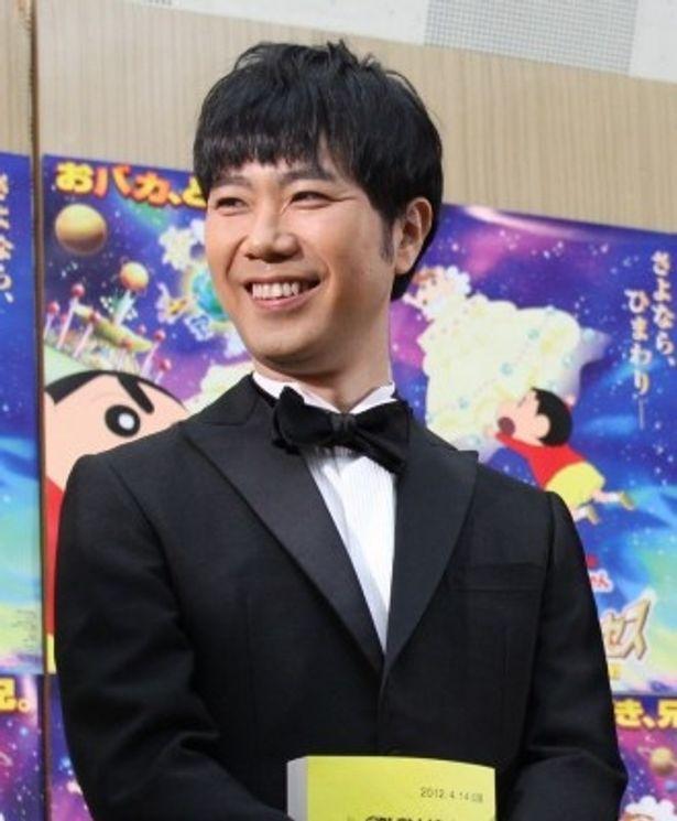 満面の笑顔で公開アフレコに参加した藤井隆