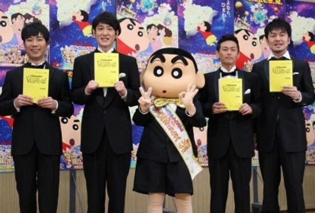 『映画クレヨンしんちゃん 嵐を呼ぶ!オラと宇宙のプリンセス』は4月14日(土)より全国公開