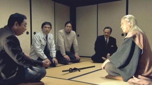 若林豪、渡辺いっけい、石丸謙二郎などテレビドラマでおなじみの中堅バイプレイヤーが共演