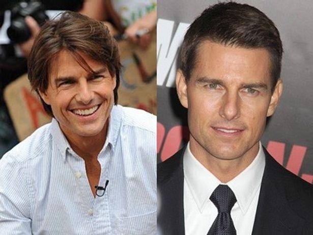 昔(左)と比べると、やはり髪の毛の量が減った?