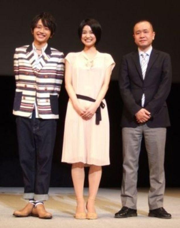 「第4回沖縄国際映画祭」で上映された『シグナル~月曜日のルカ~』の舞台あいさつ