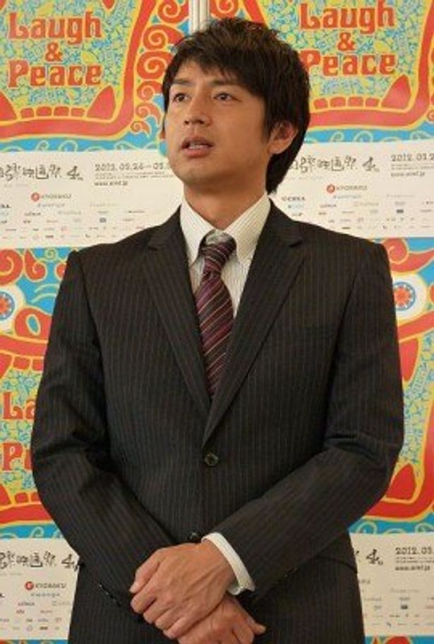主演映画『莫逆家族 バクギャクファミーリア』について語るチュートリアル・徳井