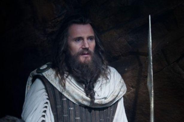 ゼウスを演じる名優リーアム・ニーソン