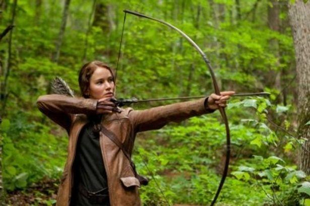 【写真】主人公カットニスを演じるジェニファー・ローレンス