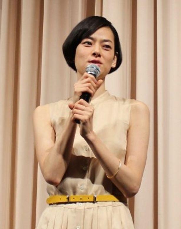 猫を貸し出して回る女性・サヨコ役を演じた市川実日子