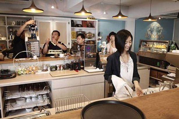 映画の舞台として作られたカフェは現在、台北で実際に運営されているそうだ