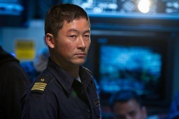 浅野忠信は自衛艦艦長ナガタ役で『バトルシップ』に出演