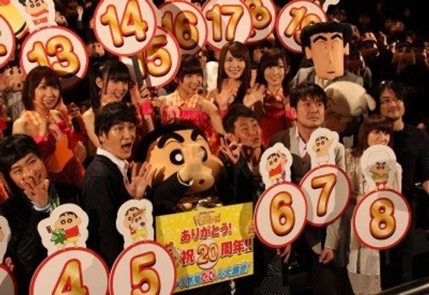『映画クレヨンしんちゃん 嵐を呼ぶ!オラと宇宙のプリンセス』は全国公開中