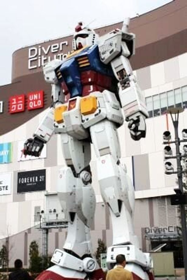 実物大ガンダムが見守る!「ダンダムフロント東京」がオープン
