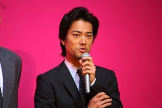 初参加組のひとり、桐谷健太。木村の手下・嶋役