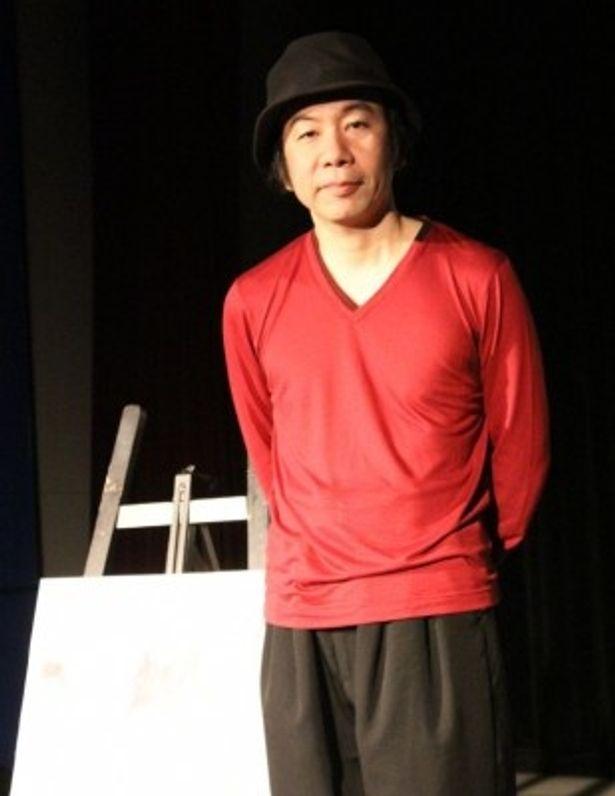 舞台あいさつに登壇した塚本晋也監督