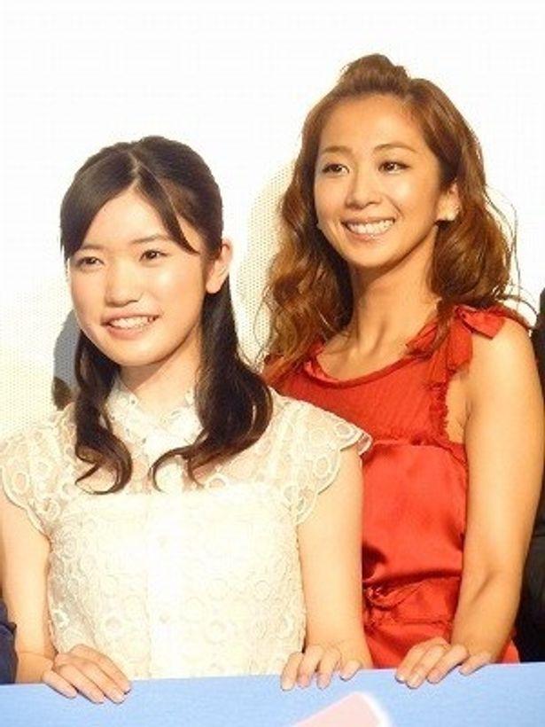 『ももへの手紙』で母娘役を演じた美山加恋と優香