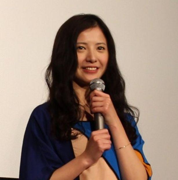 『僕等がいた 後篇』初日舞台挨拶に登壇した吉高由里子