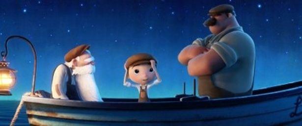 『崖の上のポニョ』を参考に製作されたという『月と少年』
