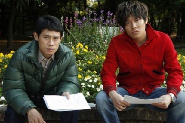 『ボクたちの交換日記』でW主演を務める伊藤淳史と小出恵介