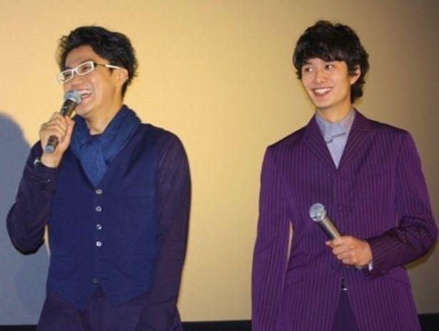 『宇宙兄弟』の小栗旬と岡田将生が大ヒット御礼舞台挨拶に登壇