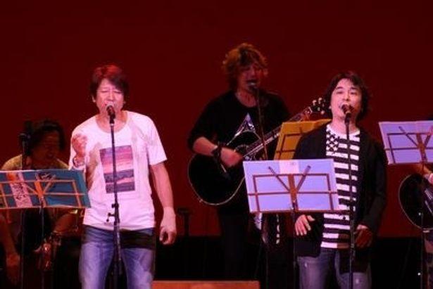 """東日本大震災の復興を、声優らしく""""声""""で支援するべく各地でチャリティーイベントなどを行っている声援団"""