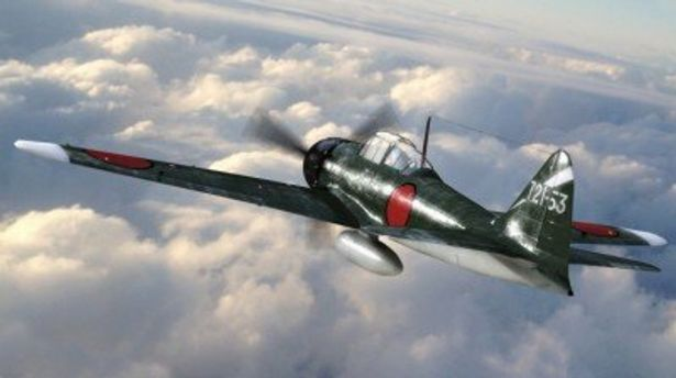 零戦によるダイナミックな空戦は、実物大の零戦を新たに製作するという