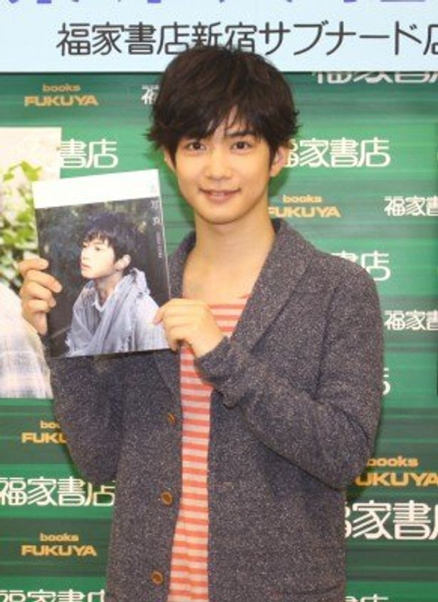 千葉雄大がセカンド写真集「青写真」の発売イベントを開催した