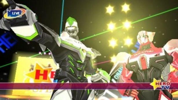 PSP用ソフト「TIGER & BUNNY オンエアジャック!」画面イメージ
